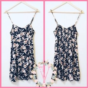 HONEY PUNCH | Button-Up Floral Print Mini Dress